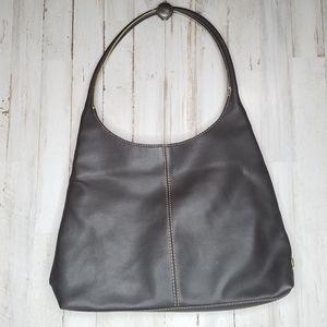 Nine West Dark Brown Hobo Shoulder Bag